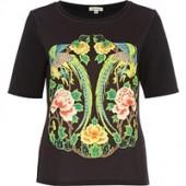 River Island embossed T-Shirt