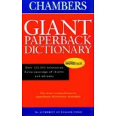 Chambers Giant Paperback Dictionary by O'neil