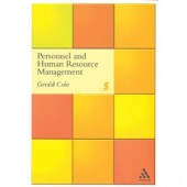 Personnel and Human Resource Management by G.A. Cole